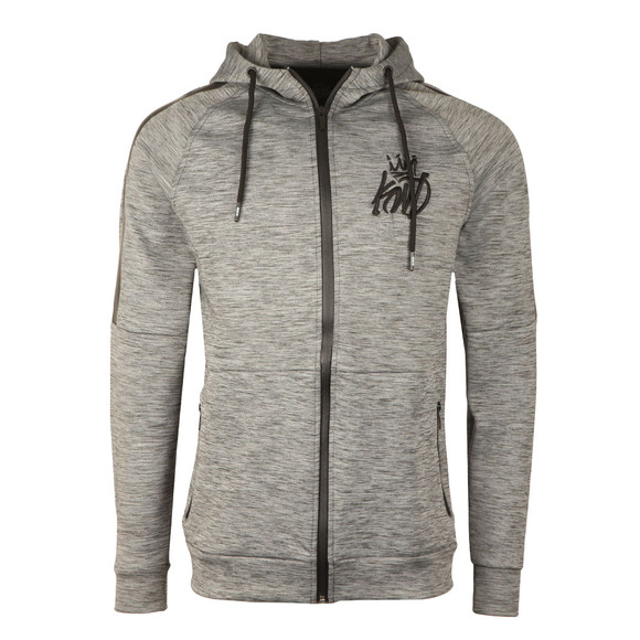 Kings Will Dream Mens Grey Nordon Full Zip Hoody main image