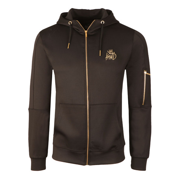 Kings Will Dream Mens Black Barnard Poly Zip Hoody main image