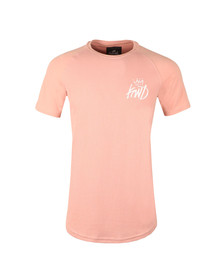 Kings Will Dream Mens Pink Drivel Waffle Tee