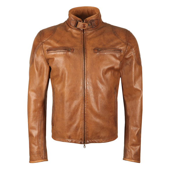 Matchless Mens Brown Osborne Leather Blouson main image
