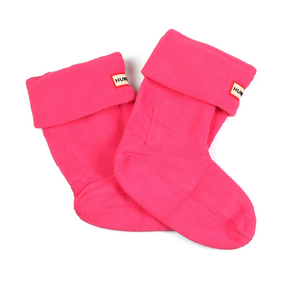 Hunter Unisex Pink Hunter Kids Welly Socks main image