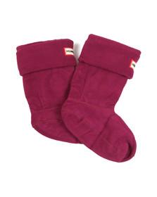 Hunter Unisex Purple Hunter Kids Welly Socks