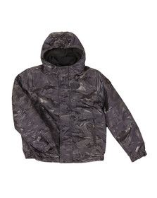 Paul & Shark Cadets Boys Grey Woven Shark Camo Jacket