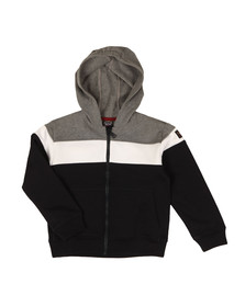 Paul & Shark Cadets Boys Grey Triple Panel Hoody