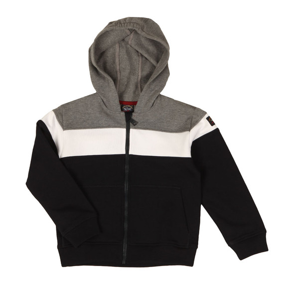 Paul & Shark Cadets Boys Grey Triple Panel Hoody main image