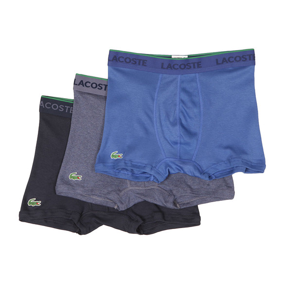 Lacoste Mens Multicoloured 3 Pack Trunks  main image