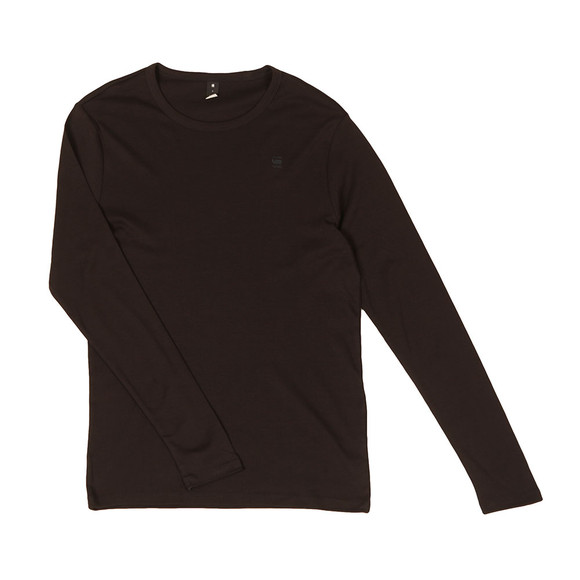 G-Star Mens Black 1 Pack LS Tee main image