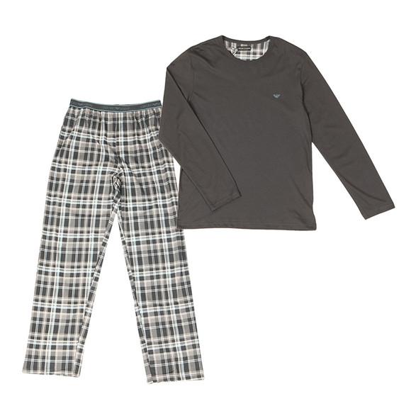 Emporio Armani Mens Grey Pyjama Set  main image