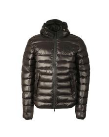 Sik Silk Mens Black Frontline Bubble Jacket