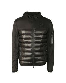 Sik Silk Mens Black Range Bubble Neo Jacket