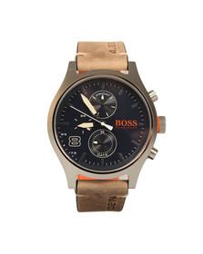 Boss Orange Mens Brown Amsterdam Watch
