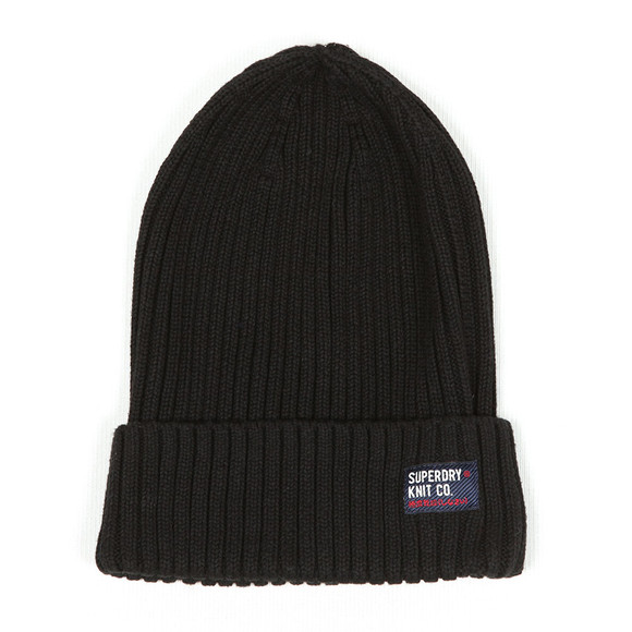 Superdry Mens Black Wiseman Beanie  main image
