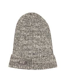 Superdry Mens White Wiseman Twist Beanie