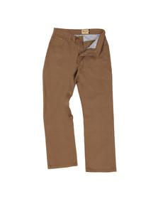Wrangler Mens Brown Texas Stretch Fabric Jean