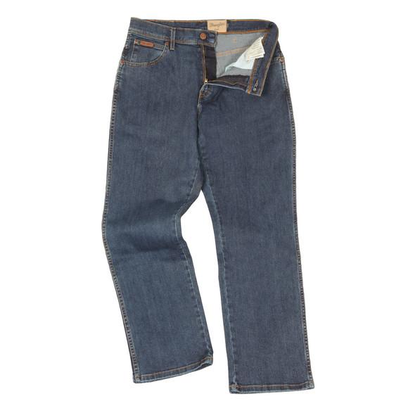 Wrangler Mens Blue Regular Stretch Jean main image
