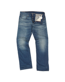 G-Star Mens Blue 3301 Itano Stretch Jean