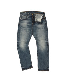 G-Star Mens Blue 3301 Higa Tapered Jean
