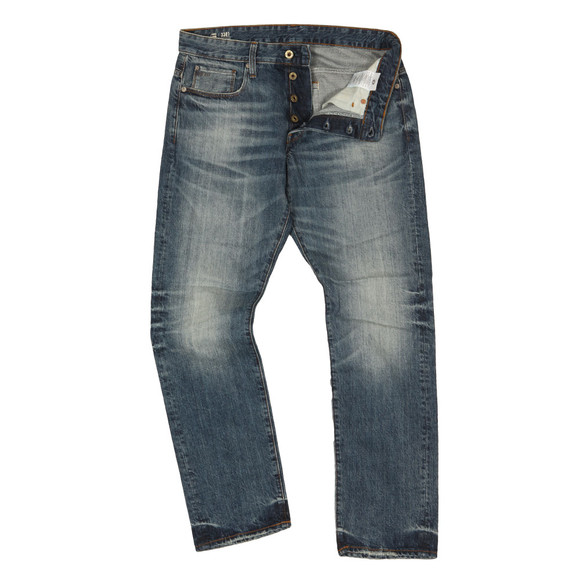 G-Star Mens Blue 3301 Higa Tapered Jean main image