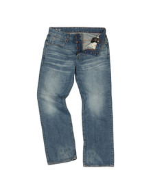 G-Star Mens Blue G-Star 3301 Loose Jean