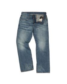 G-Star Mens Blue G-Star 3301 Loose Jean