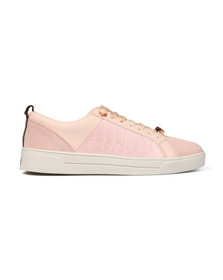 Ted Baker Womens Pink Kulei Leather Trainer