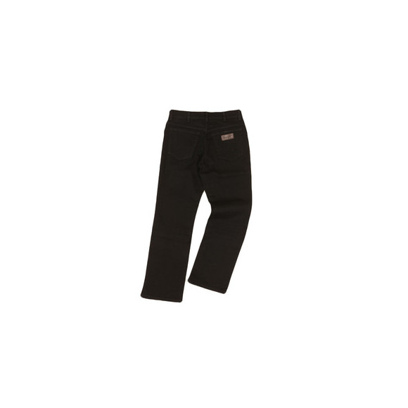 Wrangler Mens Black Wrangler Regular Stretch Jean main image