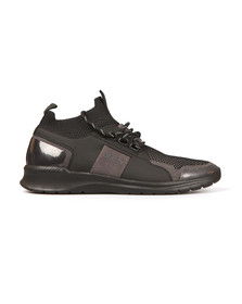 Boss Mens Black Extreme Knit Runner