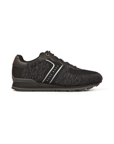 Boss Mens Black Parkour Knit Runner