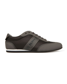 Boss Mens Grey Lighter Low Tech Trainer