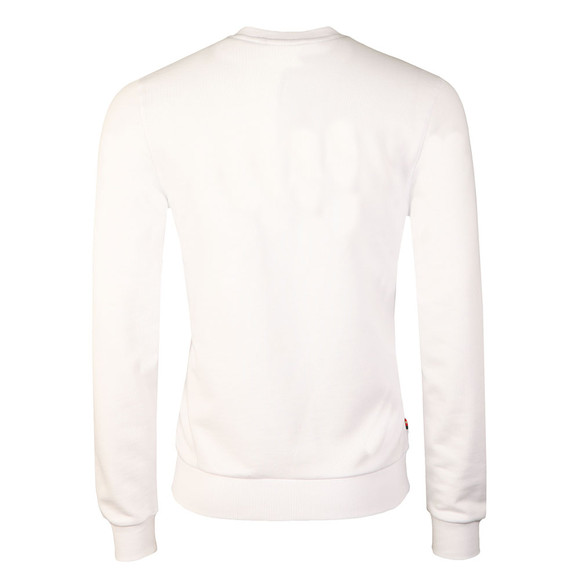 Luke Mens White Lewis Sweat main image