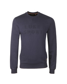 Luke Mens Blue Lewis Sweat