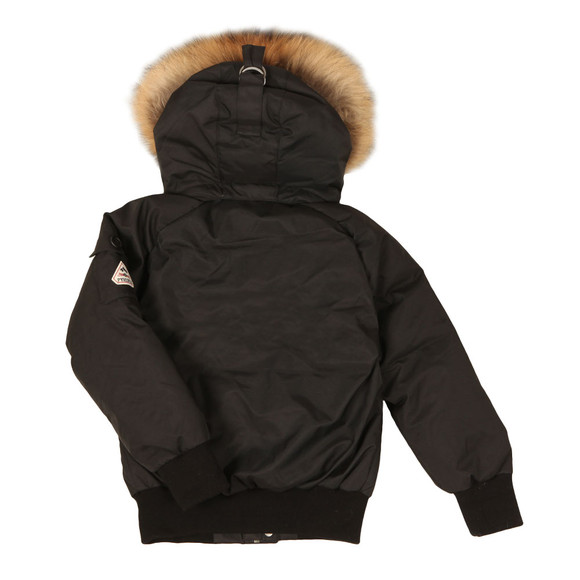 Pyrenex Boys Black Jami Fur Jacket main image