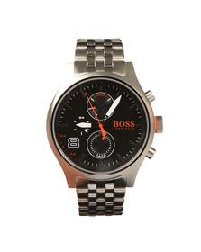 Boss Orange Mens Silver Amsterdam Watch