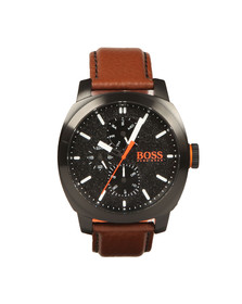 BOSS Mens Brown Casual Cape Town Watch