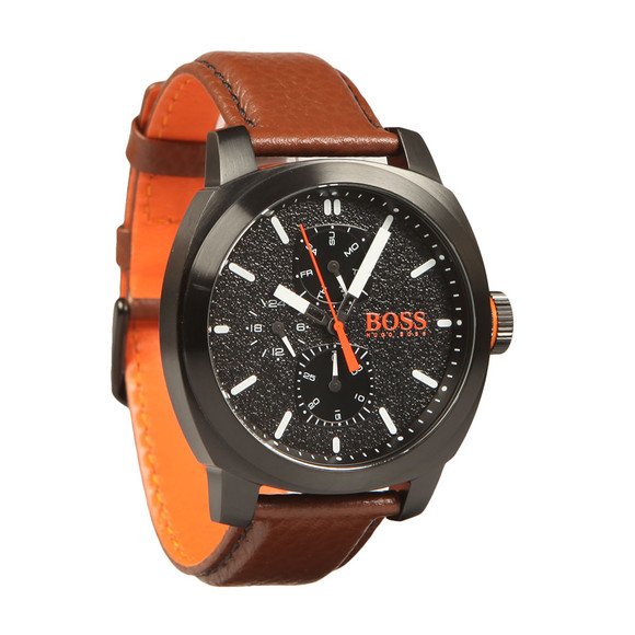 BOSS Mens Brown Casual Cape Town Watch main image