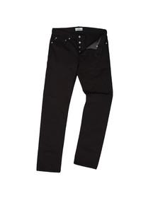 Stone Island Mens Black Slim 5 Pocket Trouser