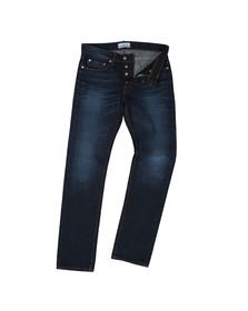 Stone Island Mens Blue Slim Fit Jean