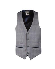 Marc Darcy Mens Blue Hilton Waistcoat