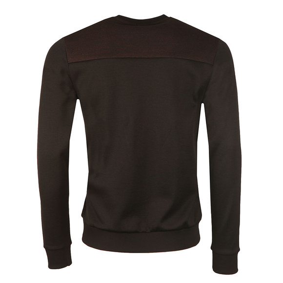 Boss Green Mens Black Salbo Crew Sweatshirt main image