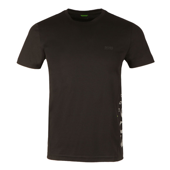 BOSS Mens Black Athleisure TL-Tech T Shirt