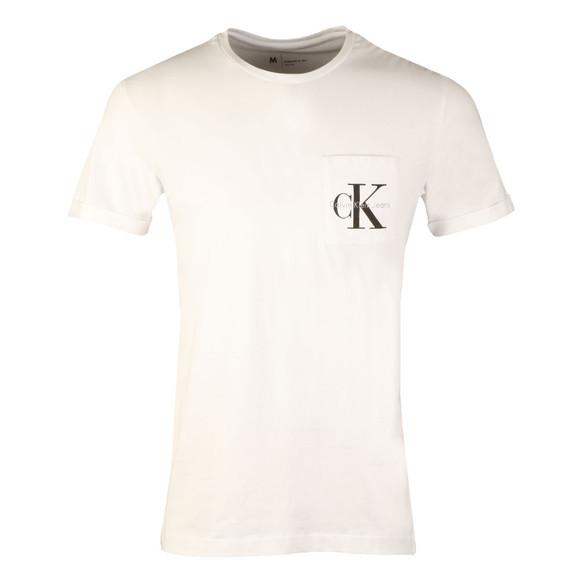 Calvin Klein Jeans Mens White S/S Bolan Tee main image