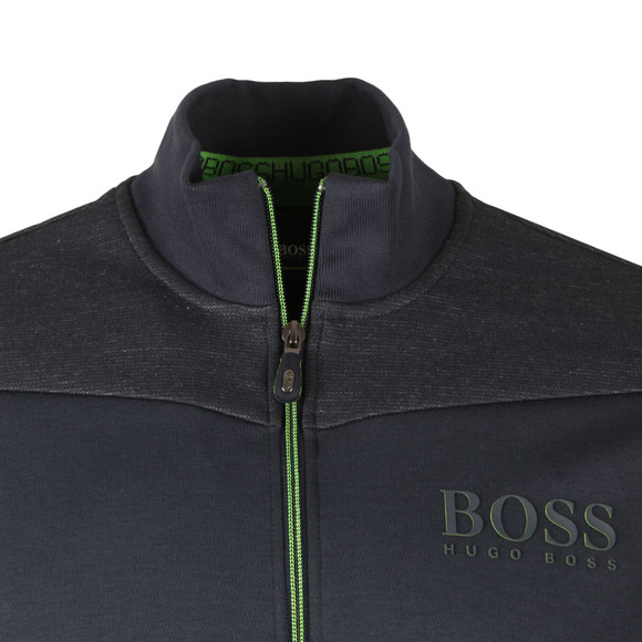BOSS Bodywear Mens Blue Skaz Full Zip Sweat main image