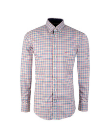 Fynch Hatton Mens Multicoloured L/S Check Shirt