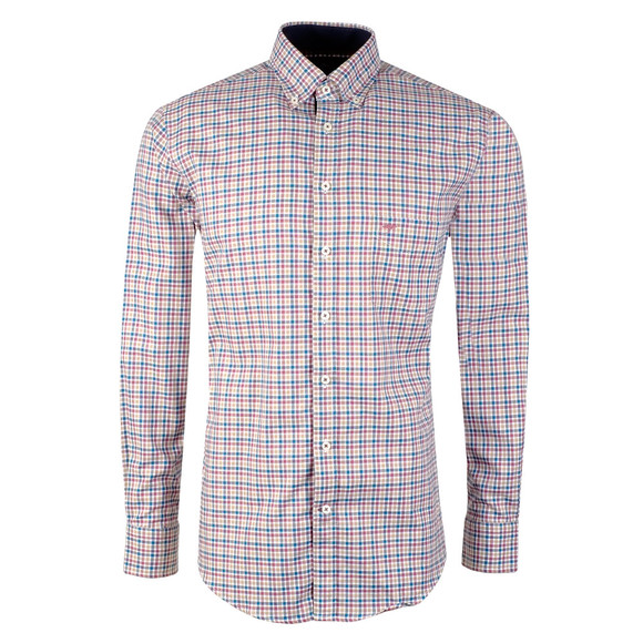 Fynch Hatton Mens Multicoloured L/S Check Shirt main image