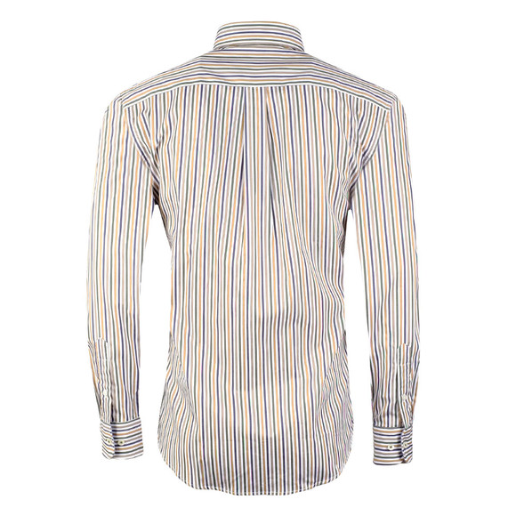 Fynch Hatton Mens Multicoloured Combi Stripe LS Shirt main image