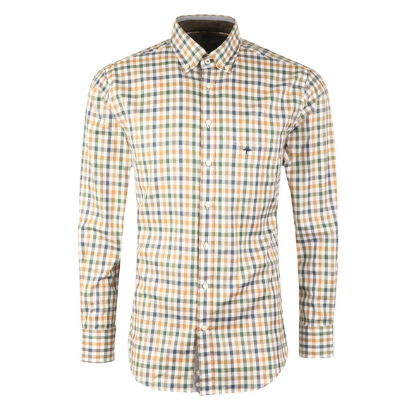 Fynch Hatton Mens Multicoloured Combi Check LS Shirt main image