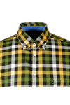 Fynch Hatton Mens Multicoloured LS Multi Combi Check Shirt