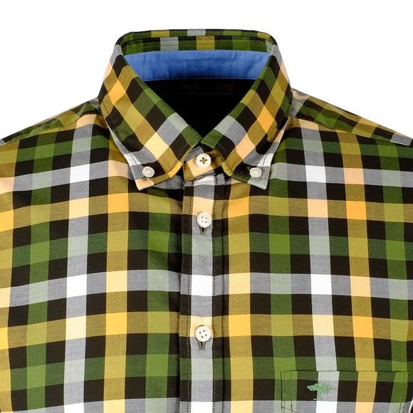 Fynch Hatton Mens Multicoloured LS Multi Combi Check Shirt main image