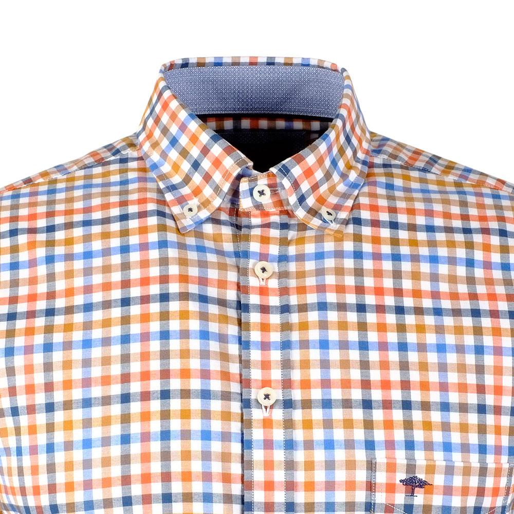 LS Tonal Combi Check Shirt main image