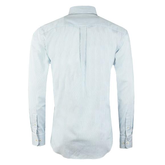 Fynch Hatton Mens Blue Stripe LS Shirt main image